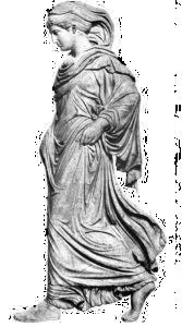Über uns -Eurythmieausbildung - die schreitende Athena Eurythmieausbildung